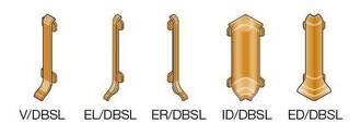 Schlüter DESIGNBASE-SL-AEEB Aluminium edelstahl gebürstet eloxiert ED/DBSL80AEEB