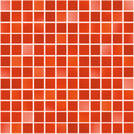 Jasba Fresh coral red-mix 2x2cm 41212H