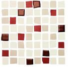 Love Tiles Splash red 20x20cm 663.0107.0241