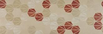 Marazzi Oficina7 beige rosso tabacco 32.5x97.7cm MKUZ
