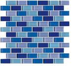 Agrob Buchtal Tonic blau mix 30x30cm 060533