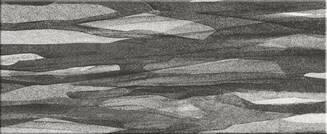 Steuler Silk black & white 33x80cm 33101