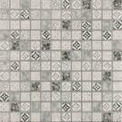 Jasba Pattern grau 2x2cm 42402H