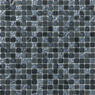 Ugo Collection Mosaik natural black 1,5 30x30cm NATURA BLACK 1,5